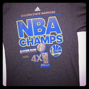 NBA championship 2015 size large